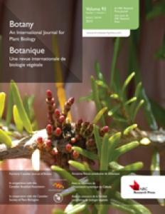 couverture revue Botany