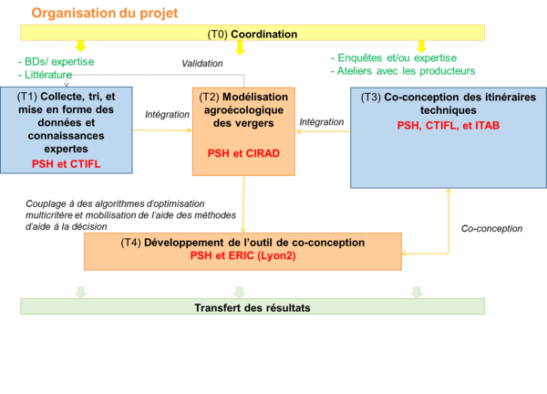 Organigramme projet ODACE