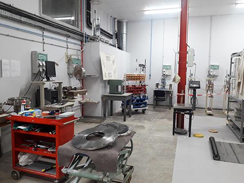 Laboratoire géosynthétiques