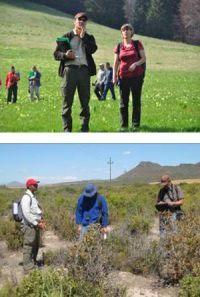 Tournée terrain à Sinaia (Roumanie) et cartographie des habitats en Afrique du Sud, dans le cadre du projet EBON
