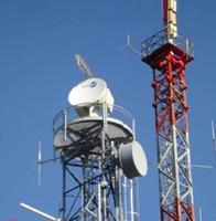 Radar météorologique bande X