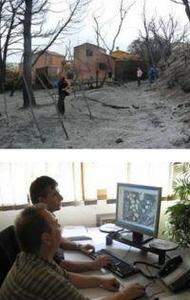 Évaluation des dommages après incendie dans les interfaces habitat-forêt, cartographie des interfaces habitat-forêt