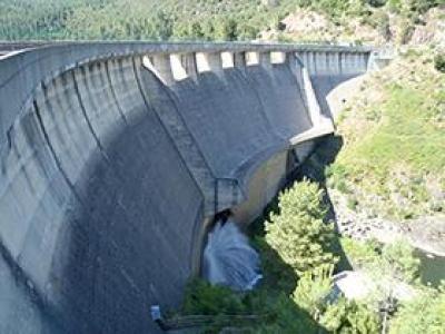 Barrage de Sénéchas (30)  © Simon Dieudonne