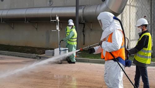 Suivi des bioaérosols émis dans l'air après ré-utilisation d'eau usée traitée