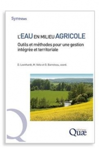 Photo de la couverture du livre « L'eau en milieu Agricole »