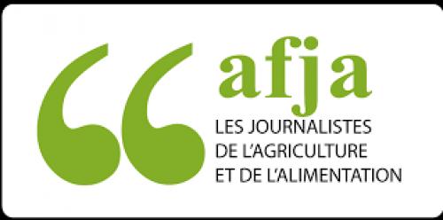 logo AFJA les journalistes de l'agriculture et de l'alimentation