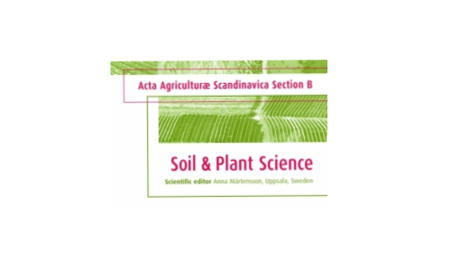 Acta Agriculturae Scandinavica, Section B — Soil & Plant Science