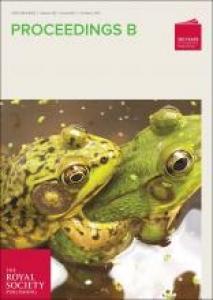 Proceedings B, Royal Society of London