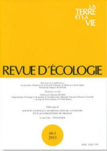 Revue d'écologie
