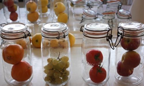 bocaux fruits et légumes