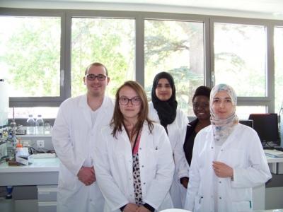 Stagiaires de l'équipe de Microbiologie Inra