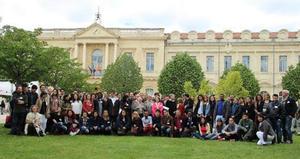 Photo des participants aux journée franco-Italiennes de Chimie à Avignon en avril 2016
