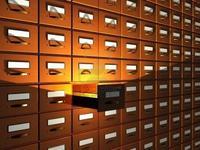 Boites pour illustrer l'archivage