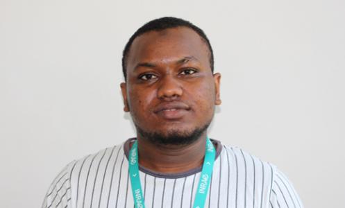 alpha Oumar Diallo, étudiant à Aix Marseille Université