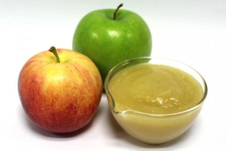 Pommes et compote