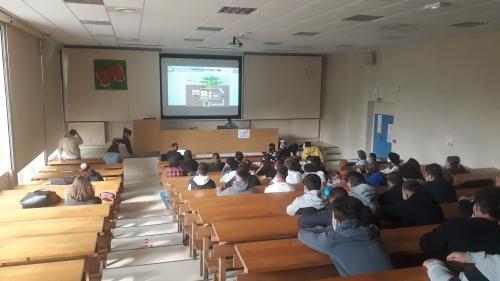 Présentation du projet aux BTS du lycée agricole du Valentin
